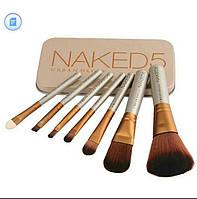 Набір кистей для макіяжу Naked (репліка), 7 шт.