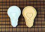 3Д Формочка до Дня Закоханих Серце-пончик   Вирубка на день святого Валентина   Вирубка для пряників, фото 3