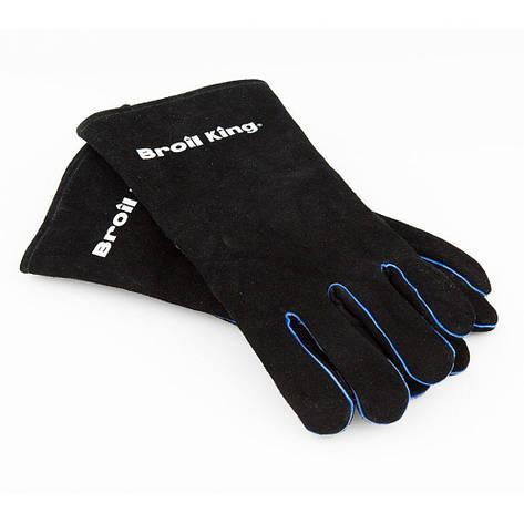 Перчатки для гриля кожаные, фото 2