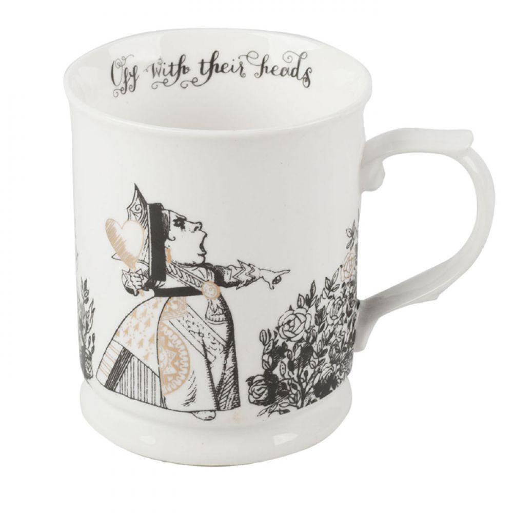 Кружка для чая Alice in Wonderland, фарфор, 400 мл