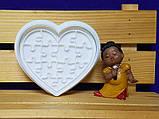 3Д Формочка ко Дню Влюбленных Пазл сердце| Вырубка на день святого Валентина | Вырубка для пряников, фото 3