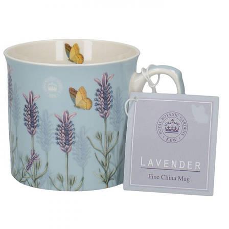 Кружка для чая LAVENDER, фарфор, белый, 230 мл, фото 2