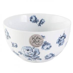 Миска для мюсли Vintage Indigo White Floral, фарфор, диам. 15 см, выс. 8 см, фото 2
