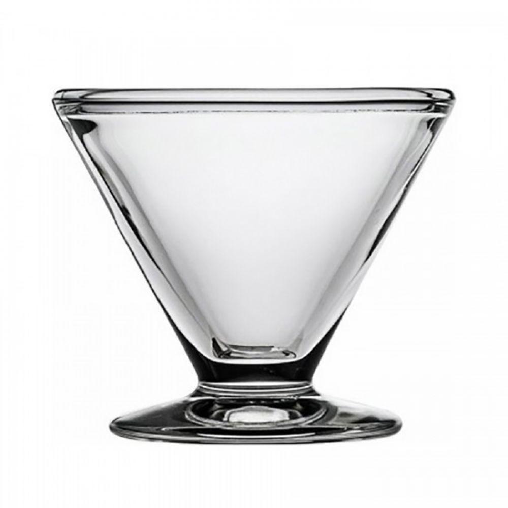 Креманка Vega, прозрачная, Н 9,3 см, 0,22 л
