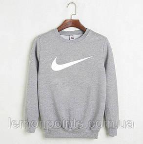 Мужская спортивная кофта свитшот, толстовка Nike (Найк)