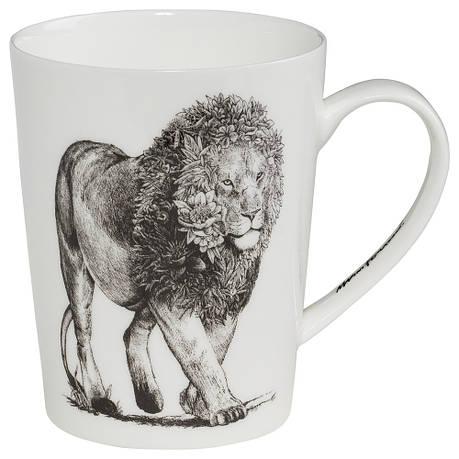 Кружка для чая Lion MARINI FERLAZZO фарфоровая, 12,5 х 9 х 11,5 см, 460 мл, фото 2