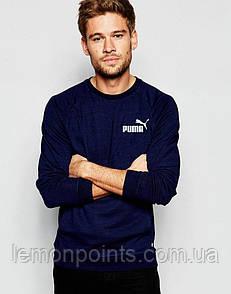 Мужская спортивная кофта свитшот, толстовка Puma (Пума)