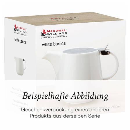 Кружка WHITE BASICS ROUND фарфоровая, 450 мл, фото 2