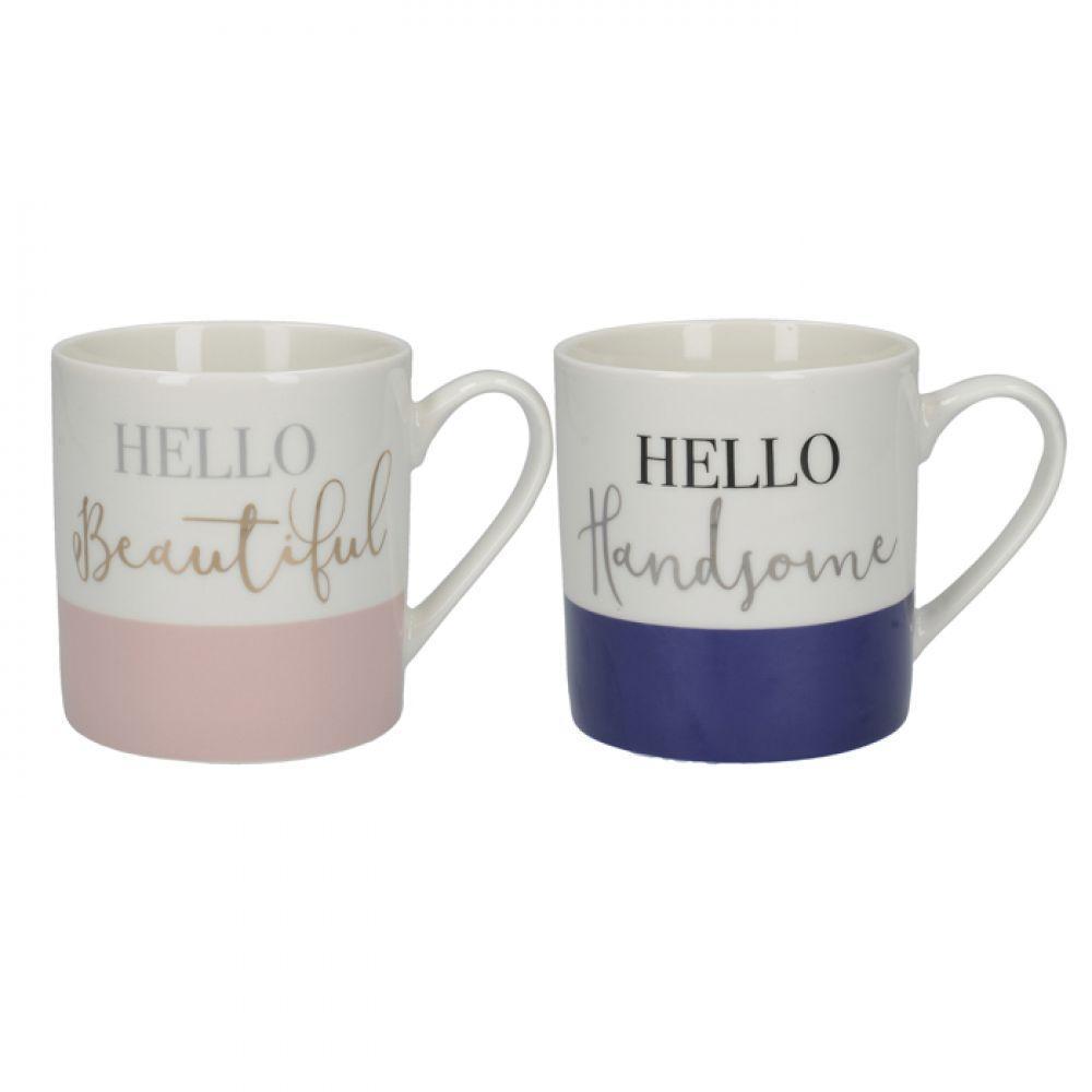 "Набор кружек для чая ""His & Hers"" Special Gift, фарфор, 300 мл, 2 шт."