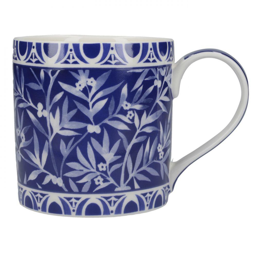 Кружка для чая Floral Geo Navy Cole Collection, фарфор, 450 мл