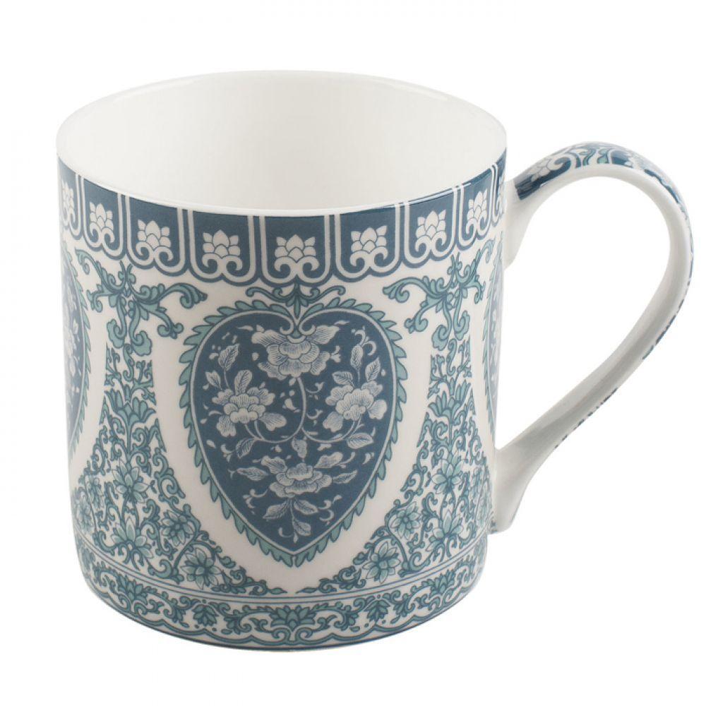 Кружка для чая Peony Chinese Ornament, фарфор, 230 мл