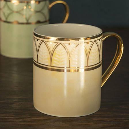 Кружка для чая Duchesse Cream Dagoty, фарфор, 300 мл, фото 2