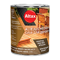 Масло для древесины Altax Olej do drewna (Серый) 0,75 л, фото 1