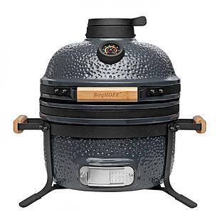 Средний керамический гриль-печь, серый, фото 2