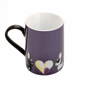 Кофейная кружка фиолетовая Lover by Lover, 300 мл, 2 шт., фото 2