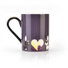Кофейная кружка фиолетовая Lover by Lover, 300 мл, 2 шт., фото 3