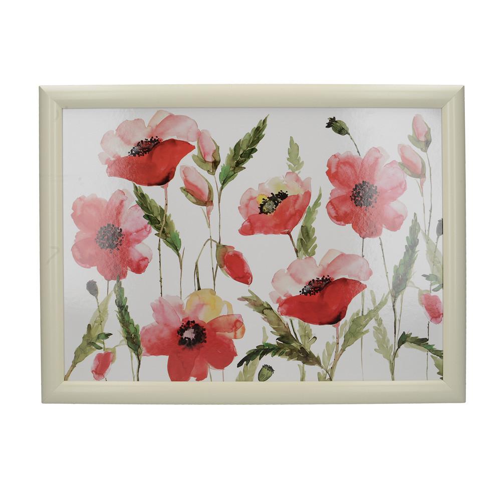 Поднос с подкладкой Poppies, 44 x 34 см