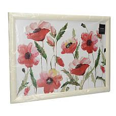 Поднос с подкладкой Poppies, 44 x 34 см, фото 2