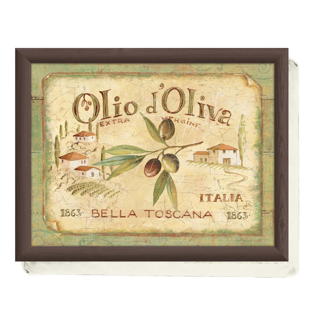 Поднос с подкладкой Olio d'Oliva, 44 x 34 см
