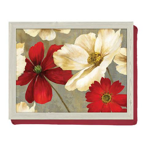 Поднос с подкладкой Flower Study, 44 x 34 см, фото 2