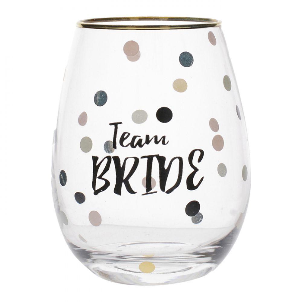Стакан для вина Team Bride Wedding Belles, 590 мл