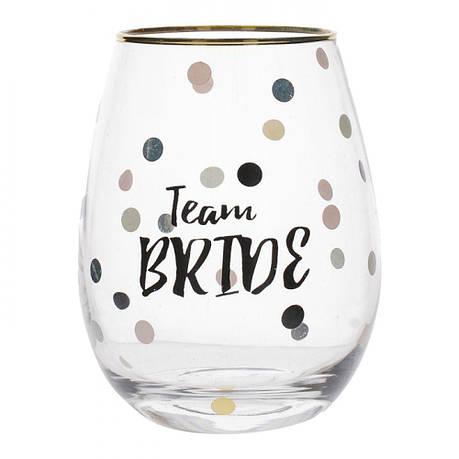 Стакан для вина Team Bride Wedding Belles, 590 мл, фото 2