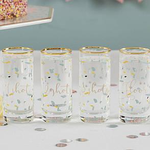 Набор стаканов для шотов Party Wedding Belles, 100 мл, 4 шт., фото 2