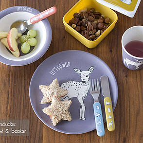 Набор детской посуды BEAR INTO THE WILD 3 предм Creative Tops 5226219, фото 2