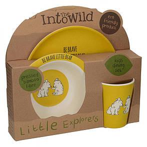 Набір дитячого посуду BEAR INTO THE WILD 3 предм Creative Tops 5226219, фото 2