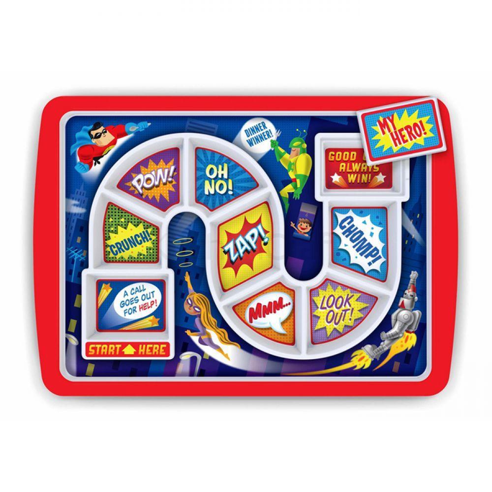 Тарелка детская WINNER SUPPER HERO Kitchen Craft 5175837