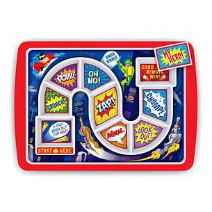 Тарелка детская WINNER SUPPER HERO Kitchen Craft 5175837, фото 2