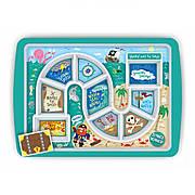Тарелка детская WINNER PIRATE Kitchen Craft 5175834