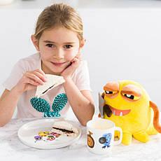 Набор посуды для детей Monsters фарфоровый белый 3 пр BergHOFF 1694050, фото 3