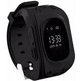 Детские смарт-часы с GPS Smart Watch Q50-SV Черные, фото 2