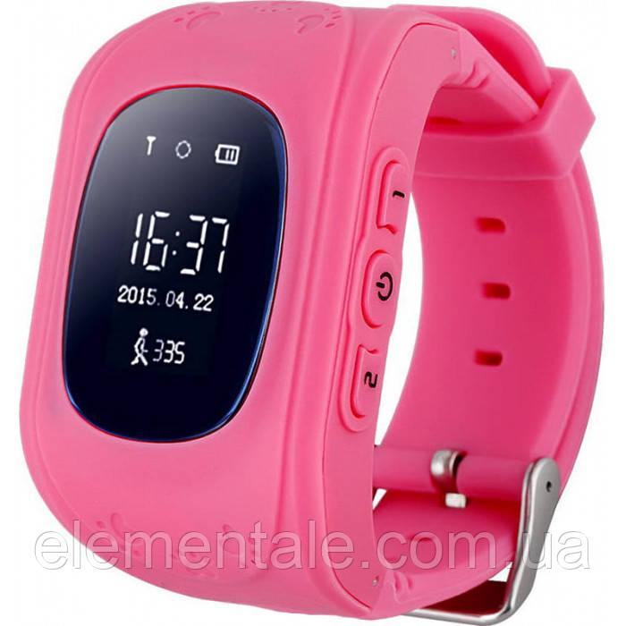 Детские смарт-часы с GPS Smart Watch Q50-SV Розовые