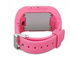 Детские смарт-часы с GPS Smart Watch Q50-SV Розовые, фото 2