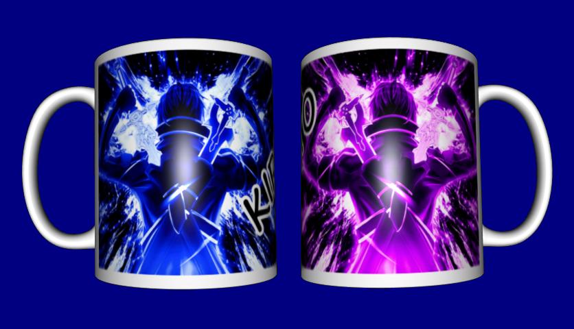 Кружка / чашка аниме Кирито Kirito