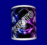 Кружка / чашка аниме Кирито Kirito, фото 2
