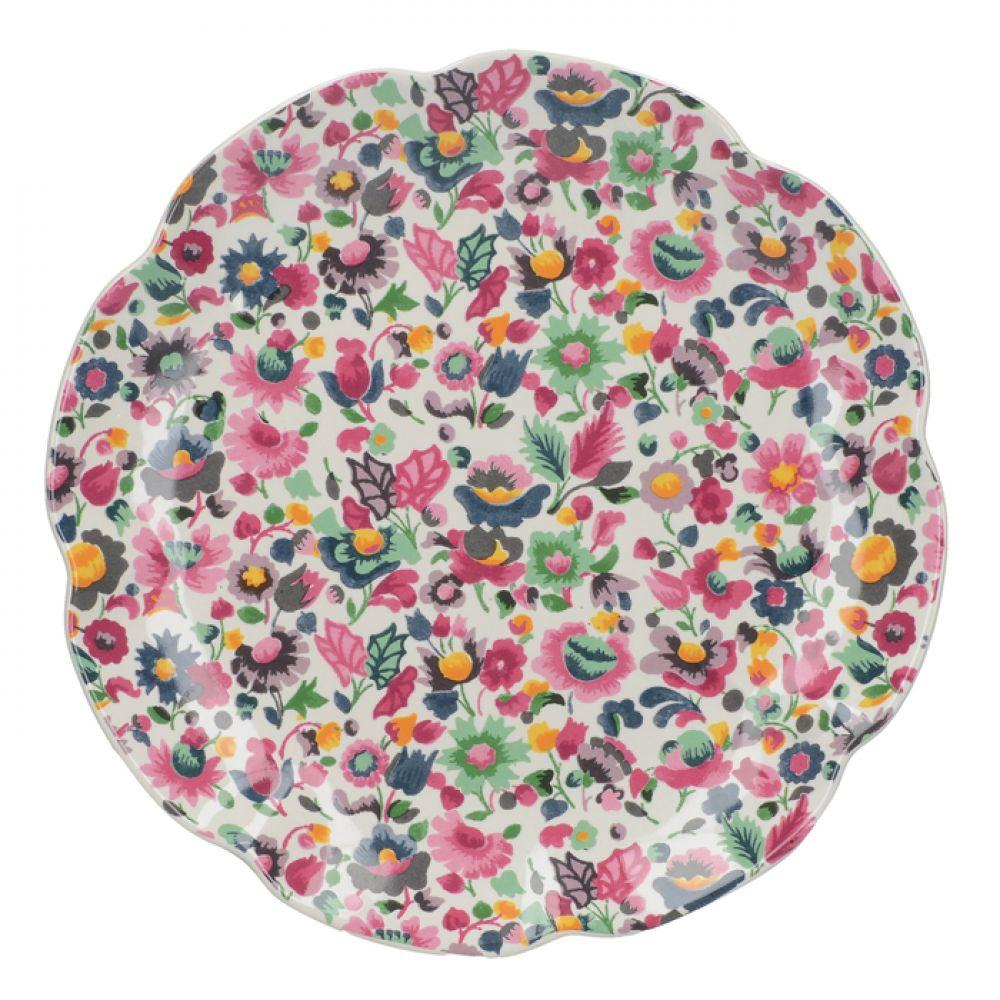 Тарелка десертная BLOOMING FANCY All Over, керамика, диам. 20,5 см