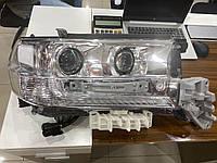 Передняя оптика 2016+ (ОРИГИНАЛ) Toyota LC 200 / Передние фары Тойота Ленд Крузер 200, фото 1