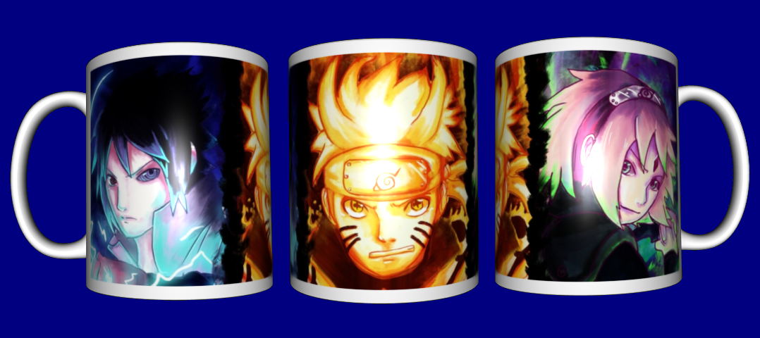 Кружка / чашка аниме Наруто Naruto Team