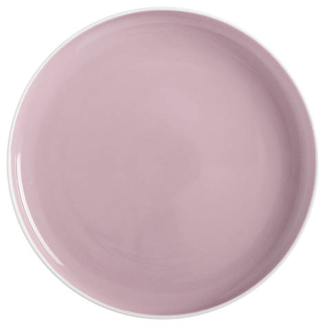 Тарелка обеденная TINT rose фарфоровая, диам. 20 см, фото 2