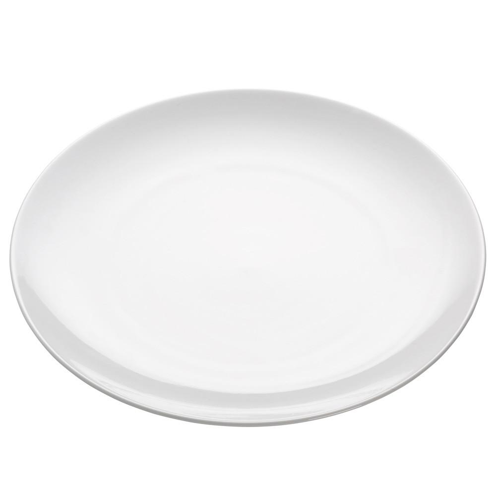 Тарелка обеденная WHITE BASICS ROUND фарфоровая, диам. 30,5 см