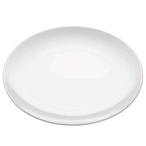 Тарелка обеденная WHITE BASICS ROUND фарфоровая, диам. 30,5 см, фото 2