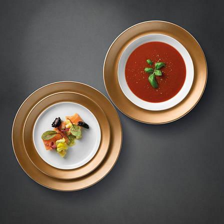 Набор тарелок GEM, белый, 3 шт., фото 2