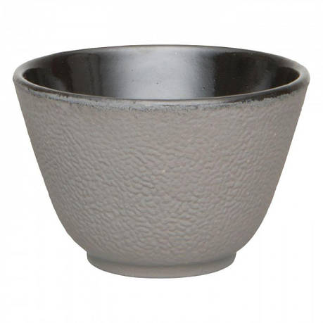 Набор чашек для чая, чугун, серый, 100 мл, 2 шт., фото 2
