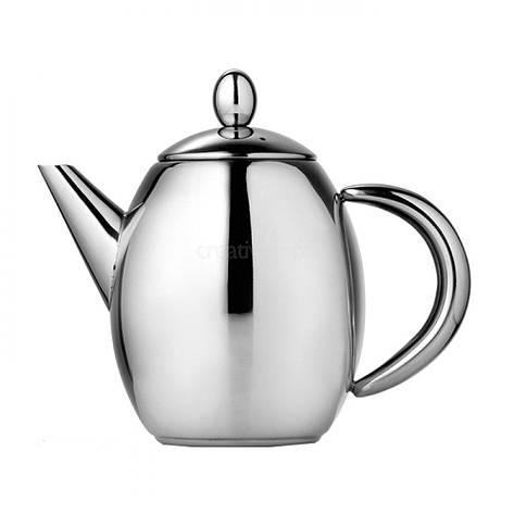 Чайник заварочный Paris из нержавеющей стали 500 мл, фото 2