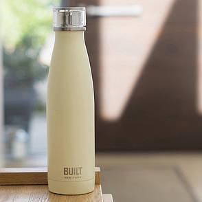 Бутылка металлическая Built Vanilla, с двойными стенками, 500 мл, фото 2