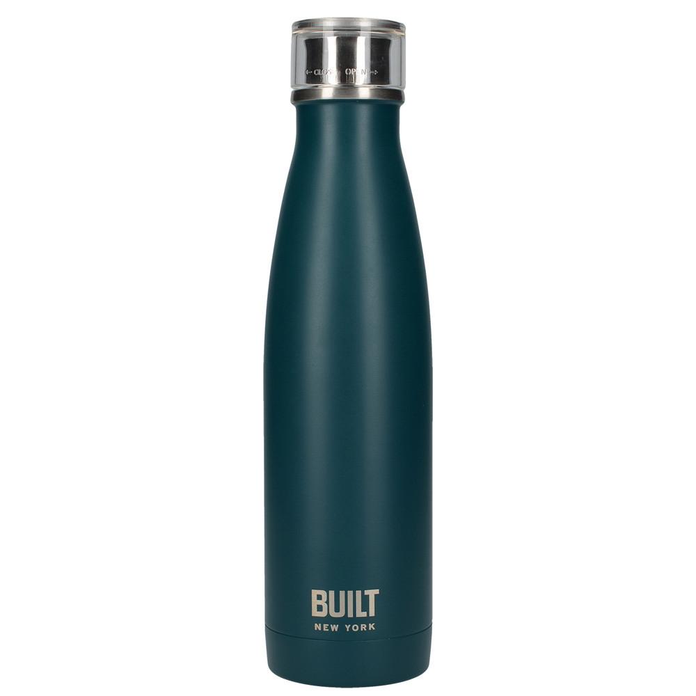 Бутылка металлическая Built Teal, с двойными стенками, 500 мл