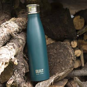Бутылка металлическая Built Teal, с двойными стенками, 500 мл, фото 2